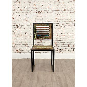 Urban Chic Dining Chair (Pack of two)-Baumhaus