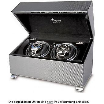 Rapport London Watch verhuizers Vogue Carbon Fibre Duo W372