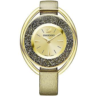 Swarovski cristallina ovale Ladies Watch - Golden - 5296314