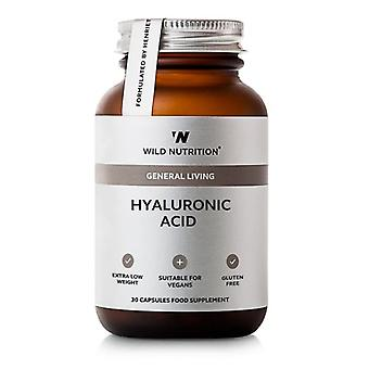 Wild Nutrition hyaluronzuur capsules 30