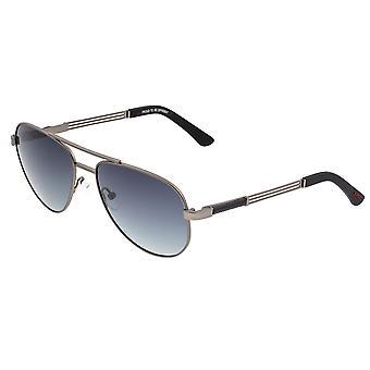 Breed Leo Titanium Polarized Sunglasses - Gunmetal/Black