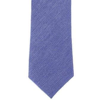 Michelsons de Londres plaine coton Tie - bleu