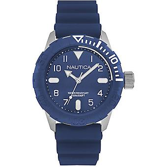 Nautica- nsr 106 Japanese Quartz Analog Man Watch with NAD09517G Rubber Bracelet