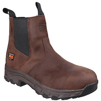 Timberland Pro Mens Workstead Water Resistant Pull on Dealer Safety Boot