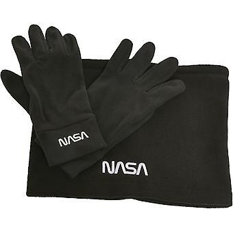 Mister Tea NASA Fleece Set - Gloves and Scarf