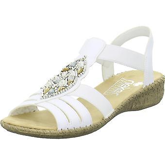 Rieker 61661 6166180 universelle sommer kvinner sko