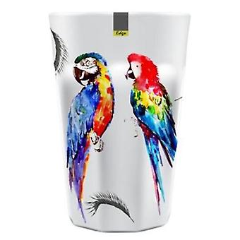 Parrot Patterned Melamine Abstract Summer Tumbler 90 x 130mm Camping Kitchen