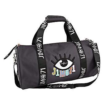 Depesche 10332 Sports Bag - Lisa and Lena J1MO71 - Dark Grey - ca. 21 x 42 x 21 cm - Gray