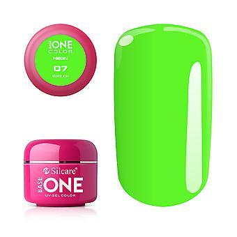Base one-Neon-Green 5g UV gel