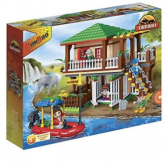 BanBao Interlocking Blocks Safari Tour Building Set (456 Pieces and 5 Mini-Figures)