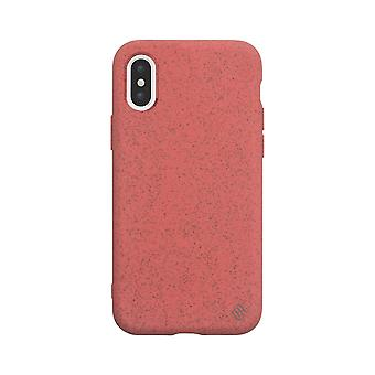Eco Friendly Red iPhone Xs / X case