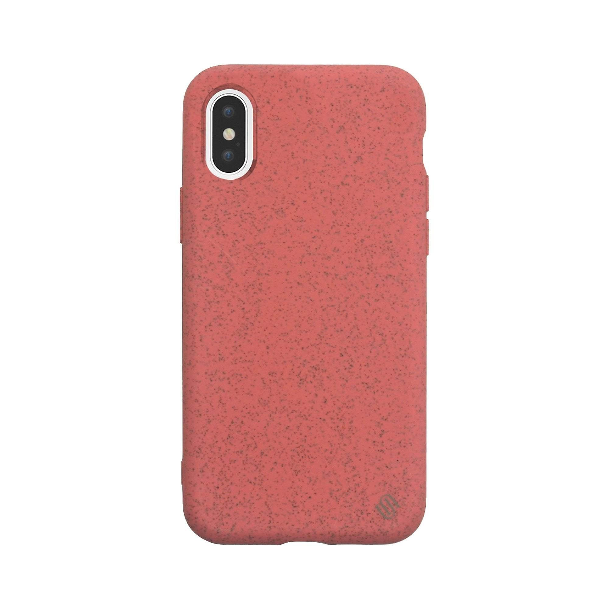 Eco Friendly iPhone XS / iPhone X  Case Nutrisiti  Coral Lychee