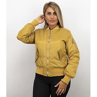 Bomber Jacket - Bomber Jacket - Yellow