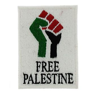 Patch Ecusson Brode Thermocollant Flag Palestine Free Flag Sew On Backpack