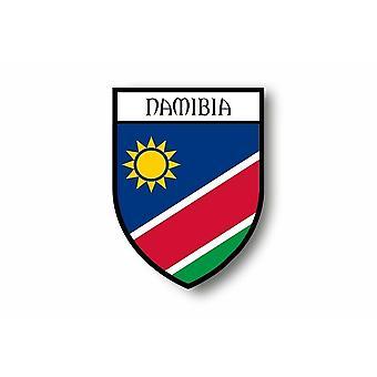 Autocollant Sticker Voiture Moto Blason Ville Drapeau Namibie Namibien