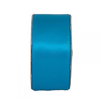 Anita's Turquoise Wide Satin Ribbon