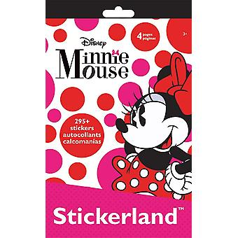 Stickerland Pad - Minnie Mouse - 4 pages Toys Gifts Stationery New st3101