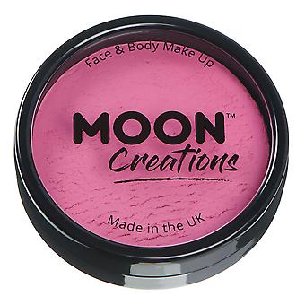 Moon Creations - Pro Face & Body Paint Cake Pots - Bright Pink
