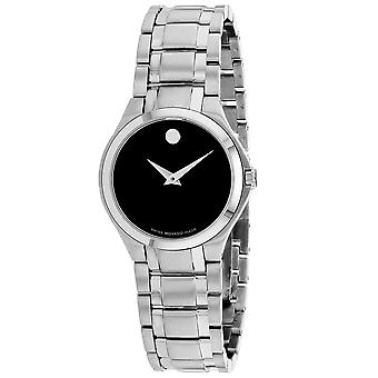Movado Women's Swiss Collection Black Dial Watch - 606784