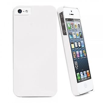 White Igum Shell For Apple IPhone Se (2016) / 5s / 5