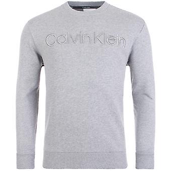 Calvin Klein Organic Cotton Logo Felpa