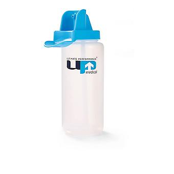 Ultimate Performance 1000cc Clear Bottle - Blue Cap - SS20