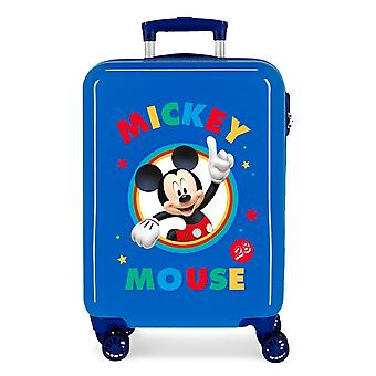 Mickey Mouse Blue Hand Luggage Trolley