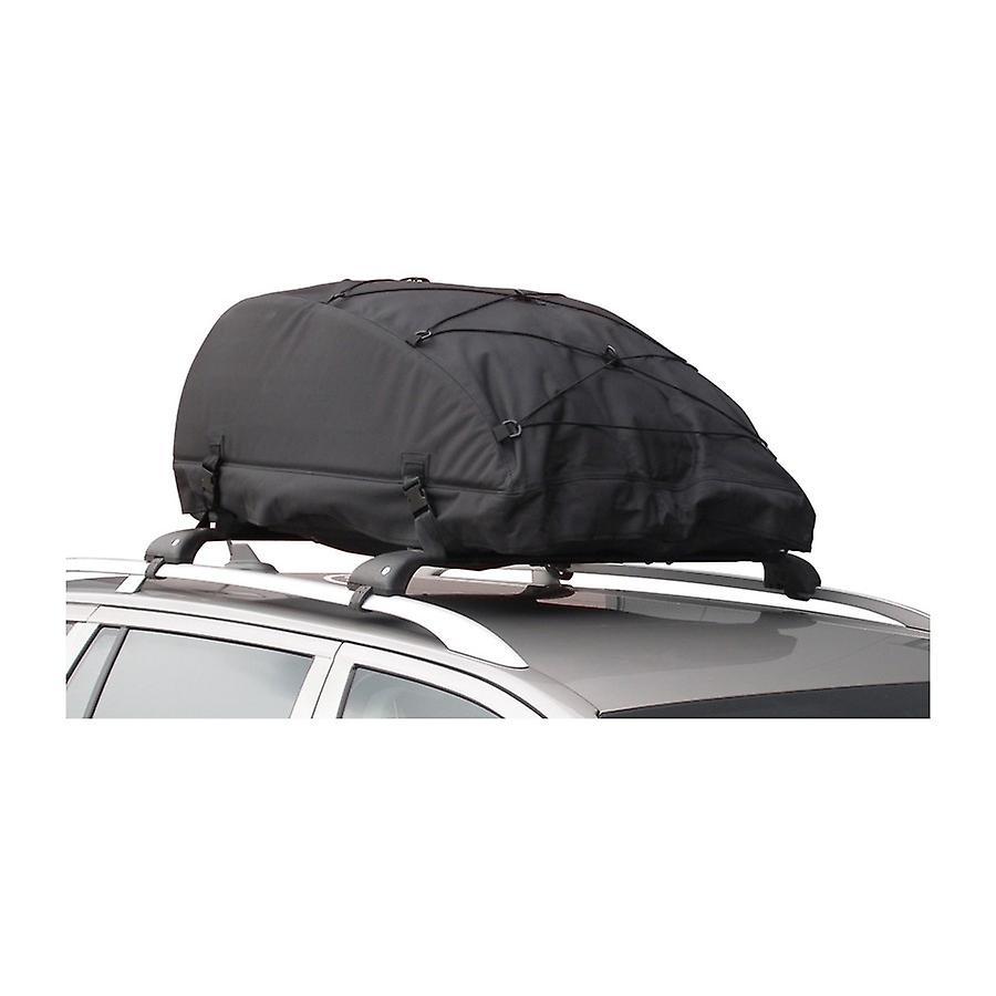 Autostyle-opvouwbare daktas/dakkoffer zwart 320 liter