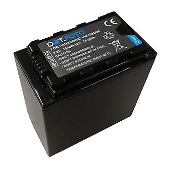 Panasonic VW-VBD78 PREMIUM sostituzione della batteria videocamera portatile ricaricabile da Dot.Foto EXTRA - 7.2 v / 10400mAh - 2 anni di garanzia - Panasonic AJ-PX270, HC-X1000, HDC-MDH2GK, MDH2-HC, HC-MDH2M
