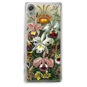 Sony Xperia XA Transparent Case - Haeckel Orchidae