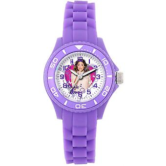 Montre Disney W001567-75019 - Montre Rose Parme Violetta Enfant