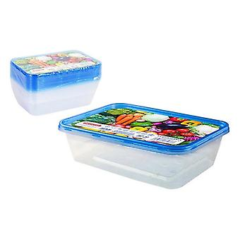 Set of 10 Boxes at Lunch Privilege 500 ml