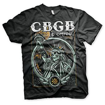 CBGB & OMFUG Punk Rock New Wave Ramones Blondie Official T-Shirt