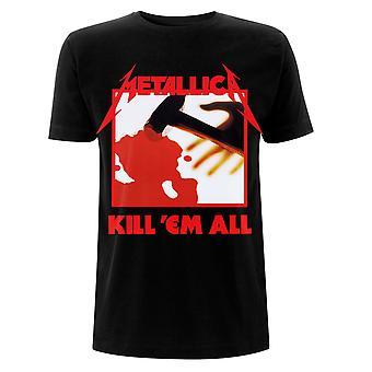 Metallica Kill 'Em All Tracklisting Whiplash Official T-Shirt
