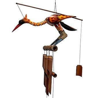 Phoenix II Bobbing Head Wind Chime