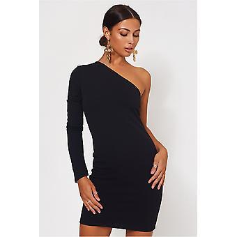 اليكسا واحد الكتف فستان صغير