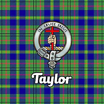 Art2Glass Tartan Clan Coaster - Taylor