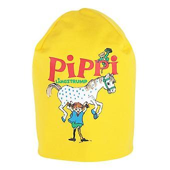 Pippi Longstocking Najsilniejsza czapka (żółta)
