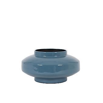 Light & Living Vase 34x18cm Mourex Blue