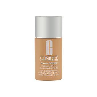 Clinique noch besser Make-up spf 15 gleichmäßig und korrigiert wn 04 Knochen