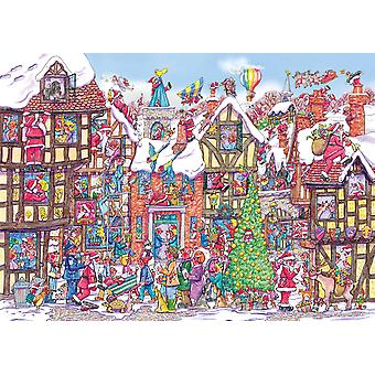 Gibsons Seventy-Six Santas 1000 Piece Jigsaw Puzzle