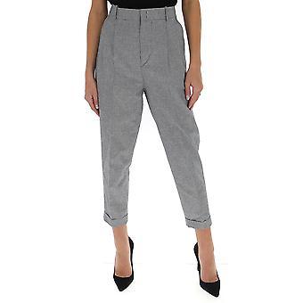 Isabel Marant ÉToile Pa151420p011e01bk Women's Grey Cotton Pants