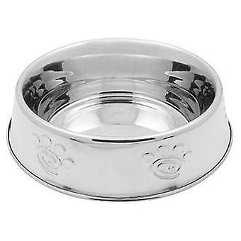 Nayeco Nordisk stål lavpunktet Spiral størrelse XL (katte, skåle, dispensere & containere, skåle)
