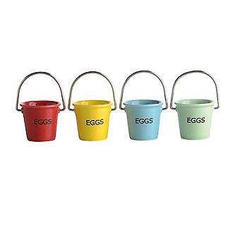 BIA Set of 4 Egg Pails