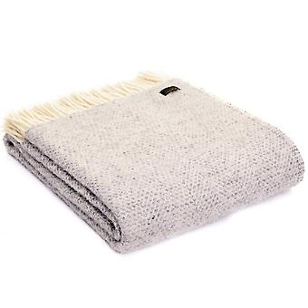 Tweedmill Pure New Wool Grey Beehive Throw