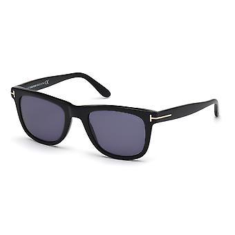 Tom Ford Leo TF336 01V Gafas de Sol Shiny Negro/Azul