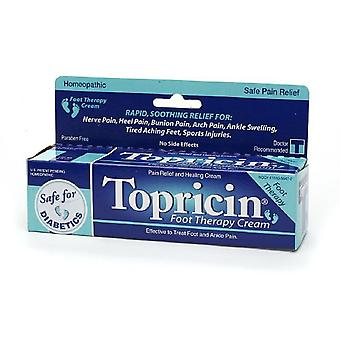 Topricin foot therapy cream, 2 oz