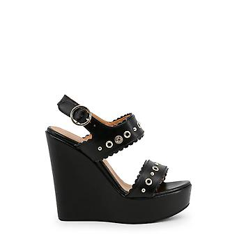 Love Moschino Original Women Spring/Summer Wedge - Black Color 31724