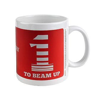 Star Trek, Mug - One To Beam Up