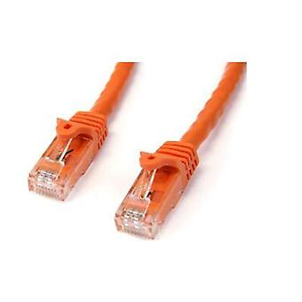 Startech 5M Orange Snagless Utp Cat6 Patch Cable